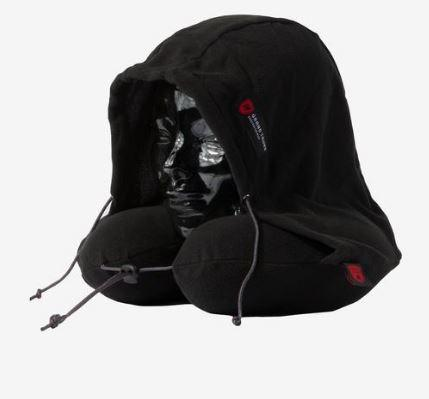 Blackout Hooded Neck Pillow