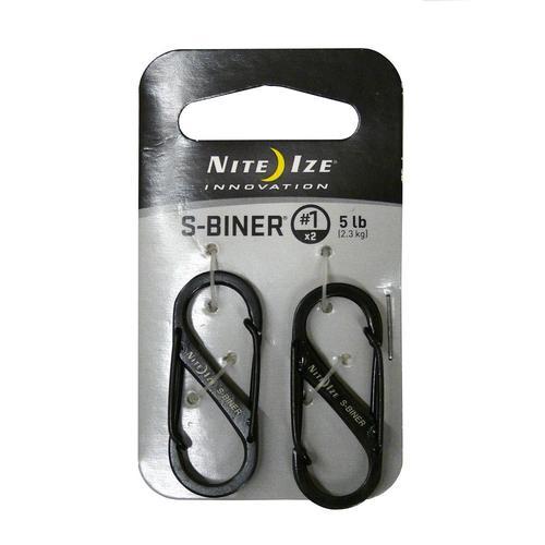S- Biner # 1 2pk (Black)