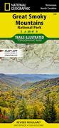 TI Great Smoky Mountains National Park Map