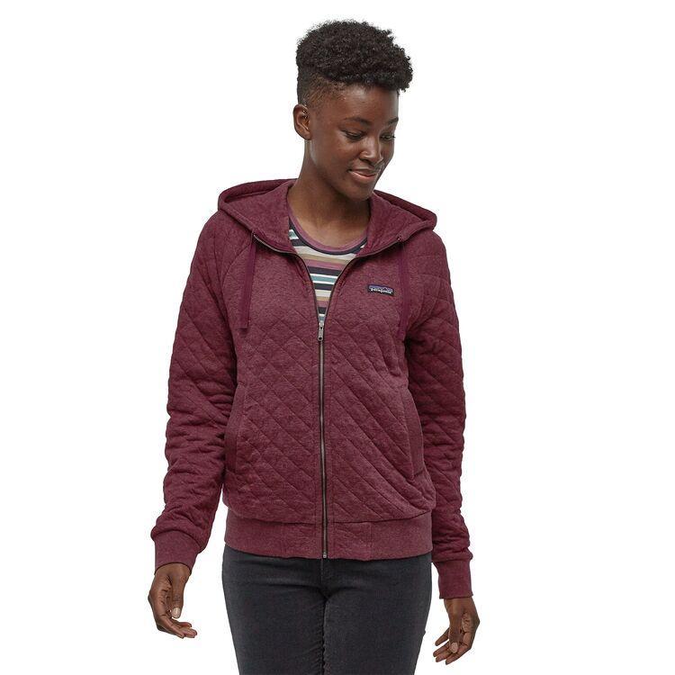 Women's Organic Cotton Quilt Hoody