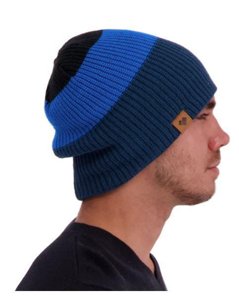 Orleans Slouch Rev Knit Beanie