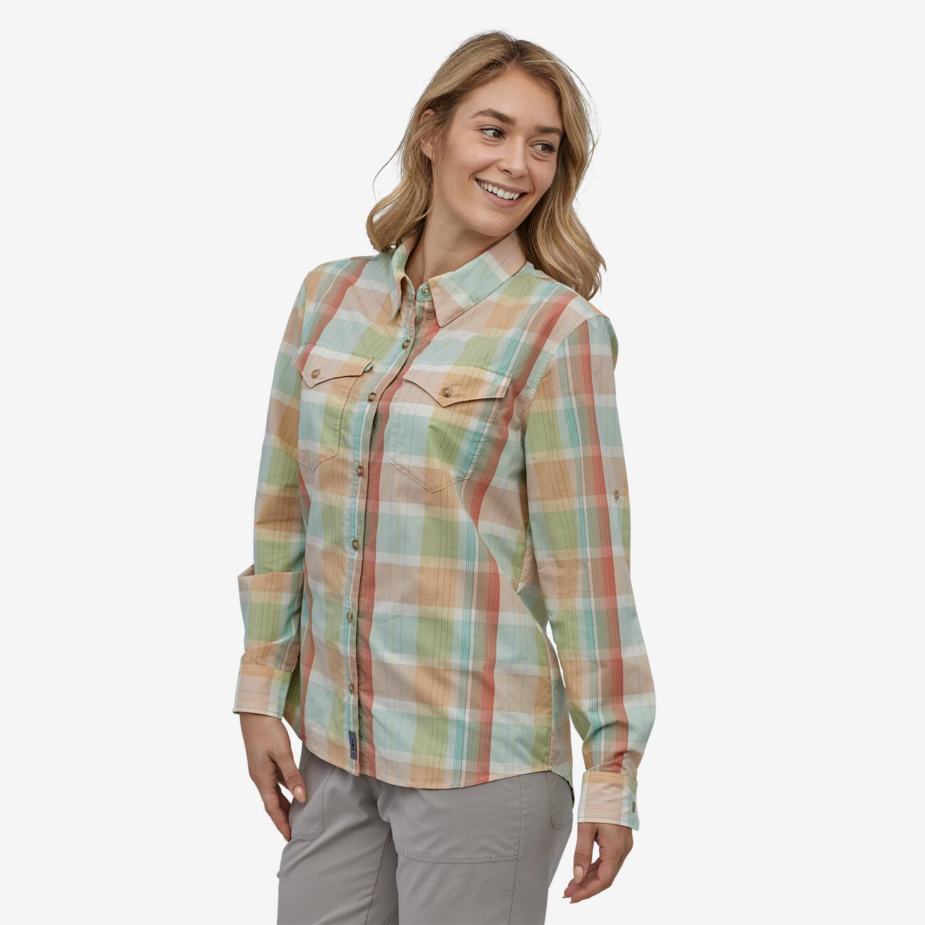 Women's Long-Sleeved Sun Stretch Shirt