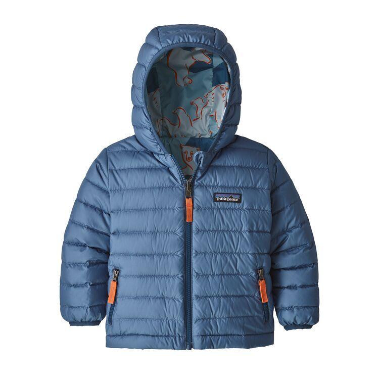 Patagonia Baby Reversible Down Sweater Hoody