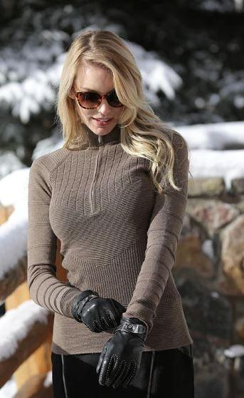 Skea Ski Zip Sweater
