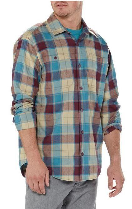Patagonia Long Sleeved Pima Shirt at Bill and Paul's