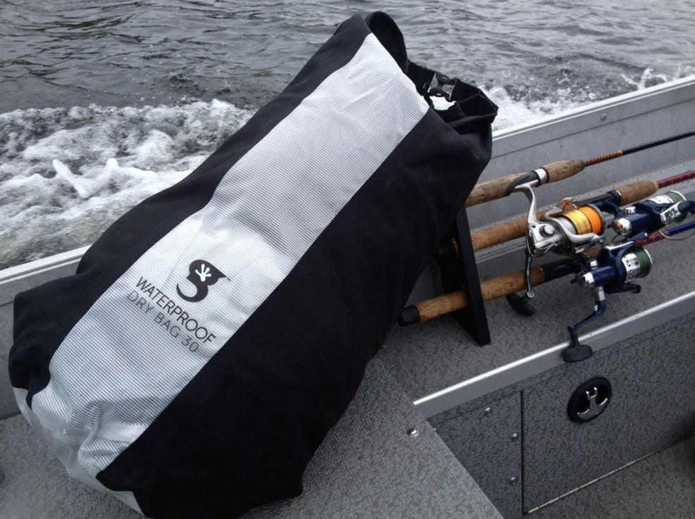 Check out the Geckobrand View 20 Liter Dry Bag. In use!