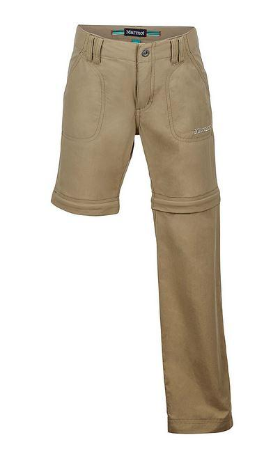 Marmot Girl's Lobo's Convertible Pant