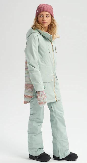 Prowess Jacket - Aqua Gray