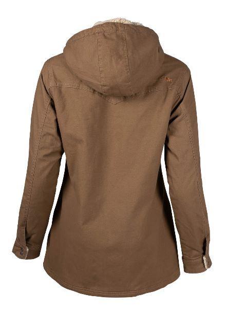 Women's Ranch Shearling Hooded Jacket