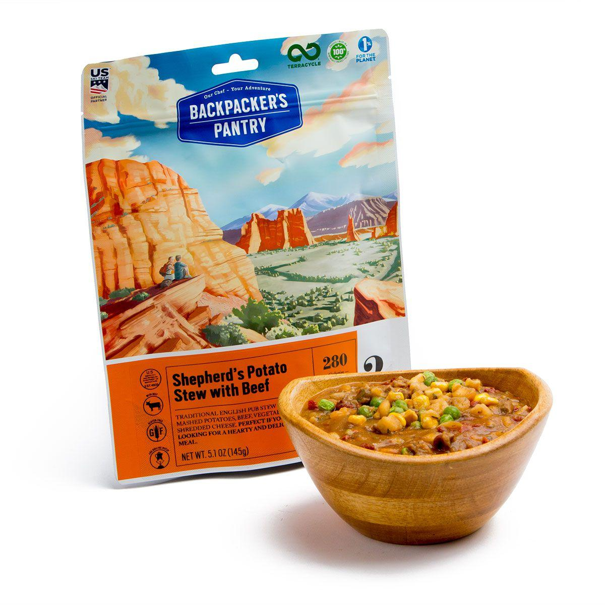 Backpacker's Pantry Shepherd's Potato Stew with Beef l ...