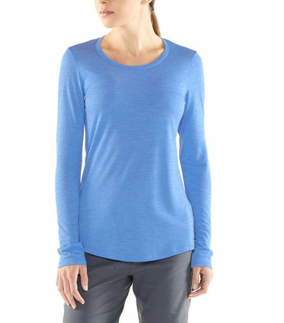 Women's Cool-Lite Sphere Long Sleeve Low Crewe